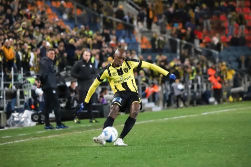 אנטואן קונטה עם הכדור