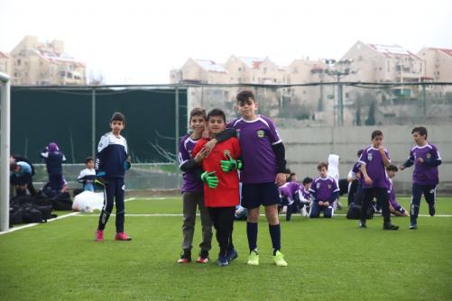 ילדים בטורניר